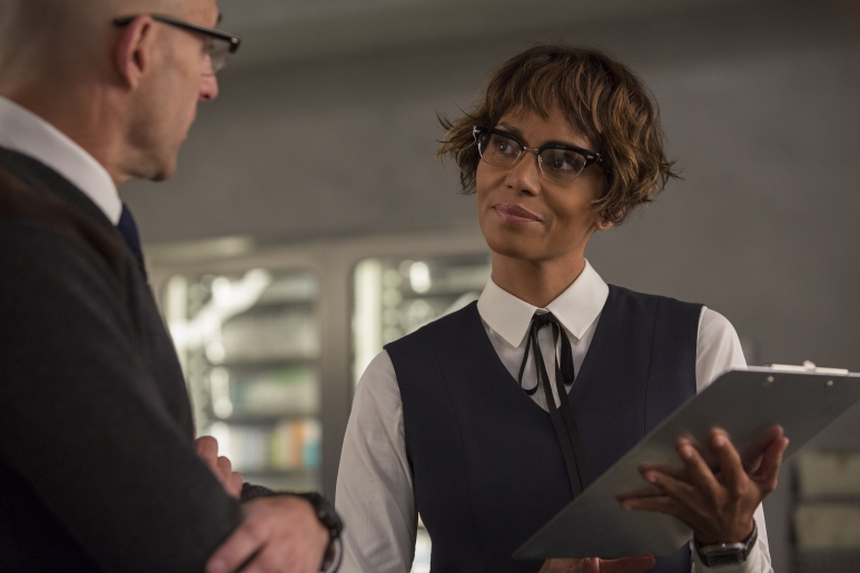 Mark Strong + Halle Berry - Kingsman 'The Golden Circle' - Credit Giles Keyte.jpg